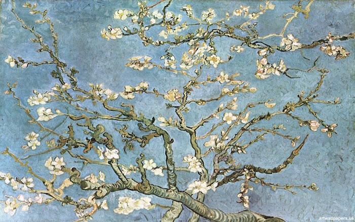 Vincent Van Gogh y El almendro en flor