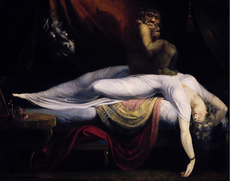 Soñar con el diablo , pesadillas, sueños eróticos