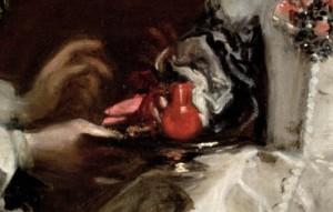 Comer barro, Velázquez, Las Meninas