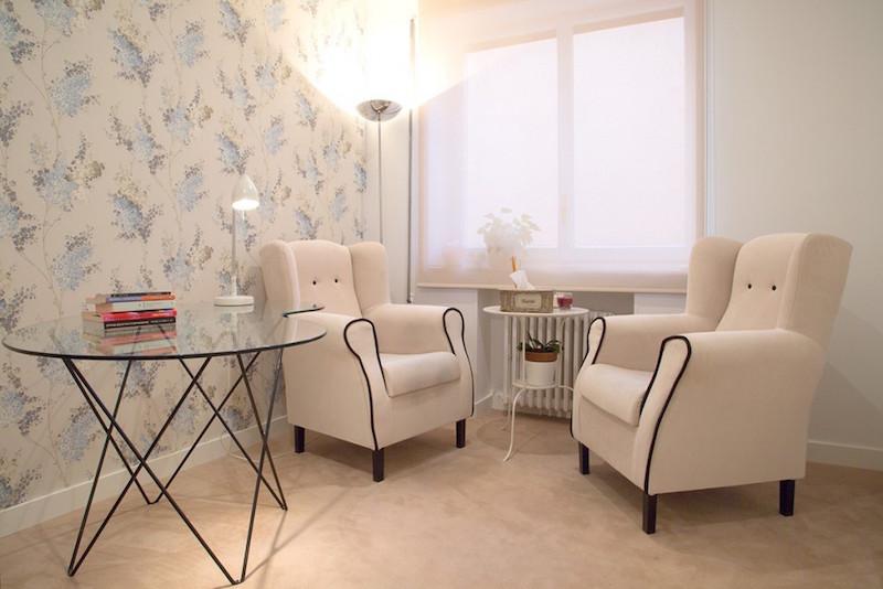 psicólogos Madrid centro, Aesthesis gabinete psicológico, despacho bonito, clásico y acogedor de centro Rubén Darío
