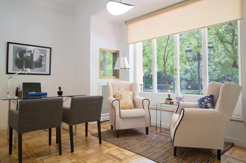 psicólogos Madrid centro, Aesthesis gabinete psicológico, despacho bonito, luminoso y amplio de centro Rubén Darío