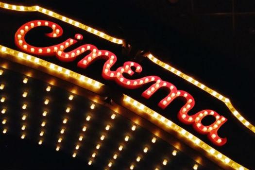 Letrero del cine
