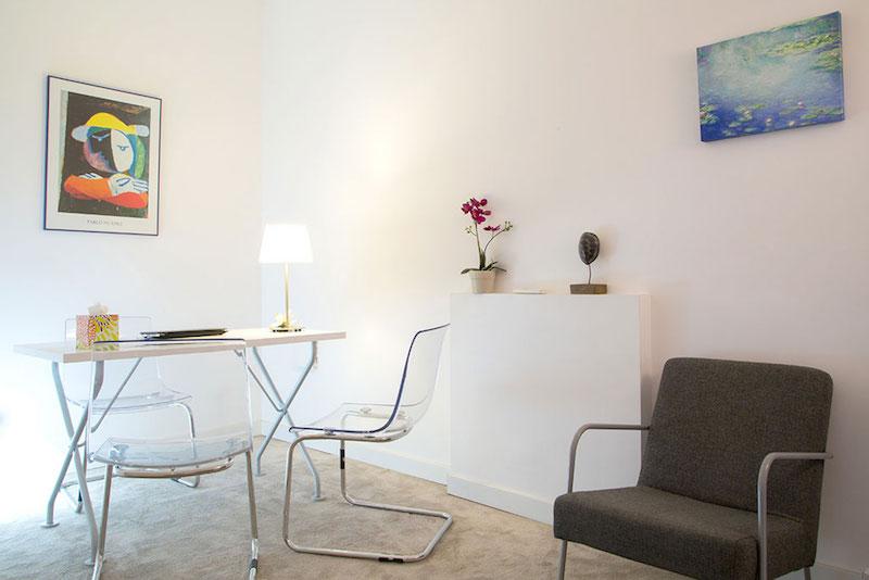 psicólogos Madrid centro, Aesthesis gabinete psicológico, despacho bonito, sencillo, de centro Velázquez