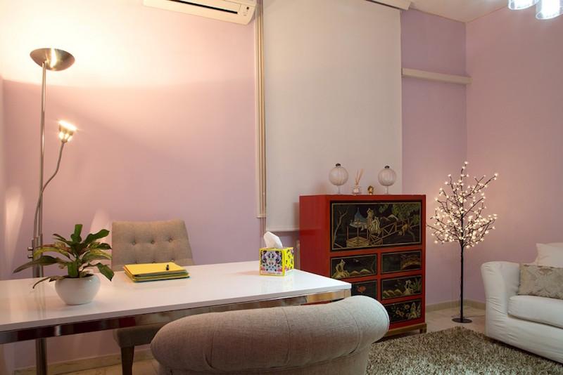psicólogos Madrid centro, Aesthesis gabinete psicológico, despacho bonito, singular y acogedor, de centro San Bernardo