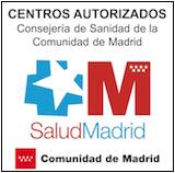 centros sanitarios autorizados salud madrid