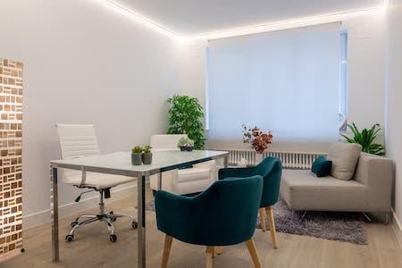 alquiler despachos psicologos Madrid centro Retiro
